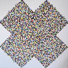 "Saatchi Art Artist Astrid Stoeppel; Painting, ""Lacy cross!"" #art"