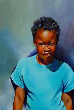 I am Somebody, painting by Jolante Hesse