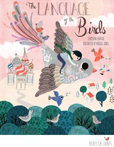 MATS Children's Book Illustration - a Russian folktale – The Language of the Birds.