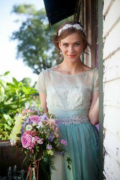 festive finds by Event Finds: Vintage Pastel Wedding Shoot