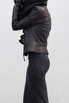 leather jacket | HarperandHarley
