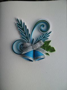 This site has some incredible quilled Christmas cards