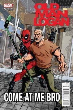 OLD MAN LOGAN #1 (2016) MCKONE DEADPOOL VARIANT