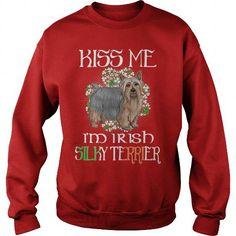 SILKY TERRIER KISS ME I AM IRISH SILKY TERRIER DOG CREW SWEATSHIRTS T-SHIRTS, HOODIES ( ==►►Click To Shopping Now) #silky #terrier #kiss #me #i #am #irish #silky #terrier #dog #crew #sweatshirts #Dogfashion #Dogs #Dog #SunfrogTshirts #Sunfrogshirts #shirts #tshirt #hoodie #sweatshirt #fashion #style