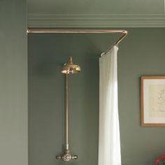 Corner Shower Curtain Rod