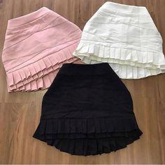 Cute Skirt Outfits, Cute Skirts, Short Skirts, Girl Outfits, Girls Fashion Clothes, Girl Fashion, Fashion Dresses, Clothes For Women, Womens Fashion