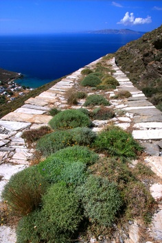Isternia bay, Tinos island, Greece
