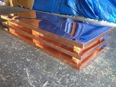 chimney cap modern copper