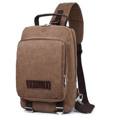 Buy now NEW HOT ! Men's Casual canvas fashion Shoulder bags Fanny Crossbody Bag crossbody men Messager bags drop shipping just only $15.82 with free shipping worldwide  #crossbodybagsformen Plese click on picture to see our special price for you