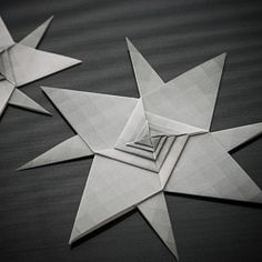Follow this tutorial to make an origami star!