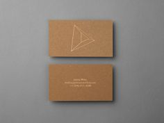 business card for James Moes by Xavier Encinas
