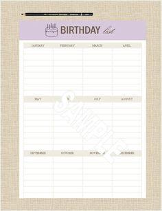 Birthday List Template Free Alluring El Contrabando De Cajetillas De Tabaco Se Duplica En Los Últimos 20 .