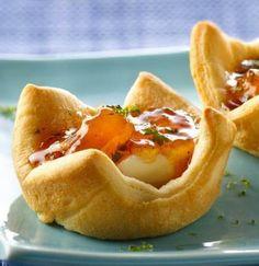 Peachy Cream Cheese Appetizers