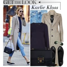 Celebrity Style: Karlie Kloss by monmondefou on Polyvore featuring мода, Maje, MANGO, ASOS, Dolce&Gabbana, Ray-Ban, Model, celebrity, CelebrityLook and karliekloss