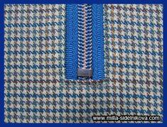 Молния без шва. Zipper Tutorial, Friendship Bracelets, Patterns, Blouse, Dressmaking, Block Prints, Pattern, Models, Friend Bracelets