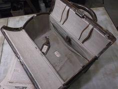 革製ドクターバッグ/アンティーク*トランク*鞄*ディスプレイ_画像2