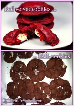 Red Velvet Cookie Fail - EpicPinterestFail.com