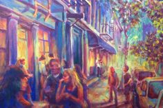 Bruce Starr : Painter  Bruce will be installing his studio in the Elkins Park Train Station during the Turtle Tour