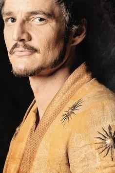 stormbornvalkyrie:  Oberyn Martell| Game of Thrones Season 4 Portraits [x]