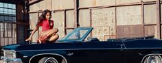 Chevrolet Impala Convertible (1970) car in MY LOVE FOR YOU by Sevyn Streeter (2016) @Chevrolet Sevyn Streeter, Car Brands, Chevrolet Impala, Car Ins, Convertible, Infinity Dress