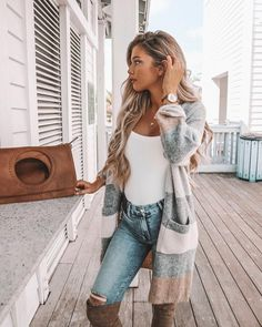 *Feels slight breeze in the air. Pulls out the Fall attire* 🌾 Cardigan + bag . *Feels slight breeze in the air. Pulls out the Fall attire* 🌾 Cardigan + bag from VICI DOLLS. Fall Maternity, Stylish Maternity, Maternity Fashion, Pregnancy Fashion, Maternity Outfits, Fall Outfits, Cute Outfits, Fashion Outfits, Fall Pregnancy Outfits