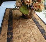 Handmade Quilted Table Runner, Classic Formal Elegant, Caramel Brown, Runner2044-21-30