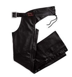 #98154-09VW 98154 Womens, Black Classic Leather Chap  Women's Vests #2dayslook #fashion #Vests www.2dayslook.com
