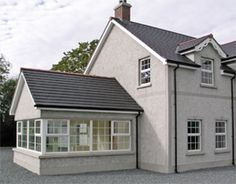 Keystone Lintels is the UK & Ireland's largest steel lintel manufacturer, specialising in bespoke lintels, masonry support brick feature lintels & windposts Extra Rooms, Building A New Home, Sunrooms, Ireland, Brick, New Homes, Lounge, Steel, Mansions
