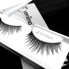 Going natural with some length, here is the #falseeyelashes style #NTR41