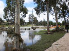 Quart Pot Creek in flood 2011