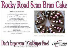 Rocky road scan bran cake