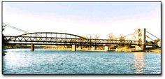 Waco, TX, my mother used to walk across this bridge every day