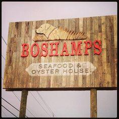 BOSHAMPS ~ New Restaurant people in Destin LOVE!!! <3