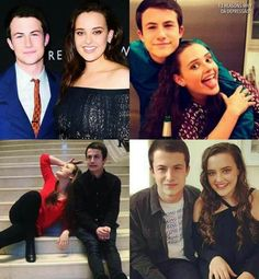 Katherine Langford and Dylan Minnette friendship - Hannah and Clay (Hannah) 13 reasons why