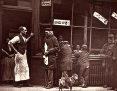 """""""Street Life in London"""" by John Thomson, 1876 and 1877."""