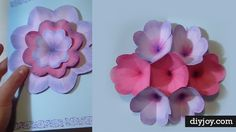 Need a cool and creative Mother's Day card you can make yourself? Try this flower pop up card for something Mom is sure to really love and appreciate (especially since you made it for her) Easy enough to make in an hour, but something your mother may very well keep for years, this handmade card is n