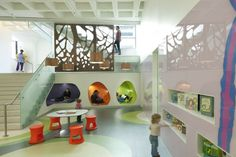 Central Library in Madison WI / MSR. The bright and whimsical children ...