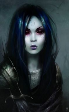 70 Most Beautiful CG Girl Artworks – CG Tutorials (girl,crazy,possessed,drawing,cg painting,creepy)