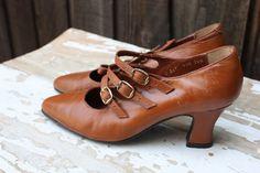 Vintage 1940s heels