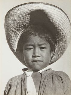 TINA MODOTTI, A proud little agrarista (Mexican peasant boy) 1927