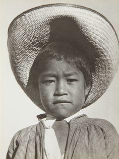 TINA MODOTTI, A proud little agrarista (Mexican peasant boy) 1927