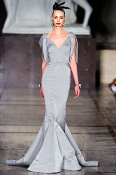 Zac Posen: Fall 2012 Collection