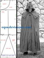 Pattern: Cloak with Capelet by eqos