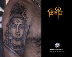 Om Namah Shivay!! Om Namah Shivay, Creative Tattoos, Portrait, Men Portrait, Portraits