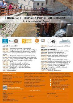 Patrimonio Industrial Arquitectónico: I Jornadas del Patrimonio Industrial en Segovia.