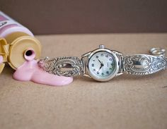 Spoon Watch Lady Grace by Silver Spoon Jewelry by silverspoonj, $124.00