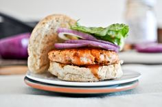 BBQ Salmon Burgers? Yes please! I'm glad I came across this recipe because I've been running out of ways to make fish and there is only so many times that you can have it with lemon. But I'm changing up mine with some Katsu.