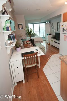 House & Home Decor: Studio/Bachelor Apartment