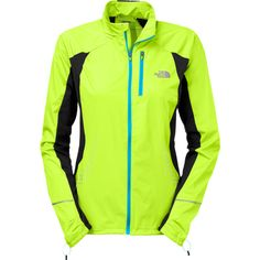 The North Face Women`s Apex Lite Jacket - great jacket for running, with windproof zones and venting zones, plus reflective patterns for visibility.