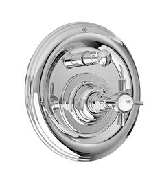Landfair Pressure Balanced Tub/Shower Trim with Cross Handle
